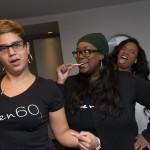Kierra Sheard and staff at Eleven60 Pop Up Shop In Washington, D.C.